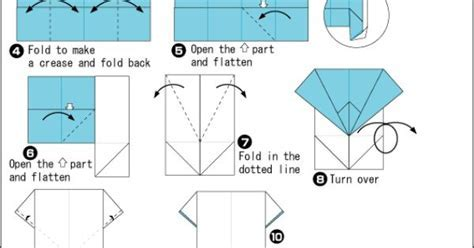 How to Fold Origami Shirt   Origami Shirt instructions