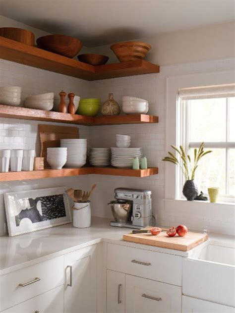 kitchen with open cabinets my dream home 10 open shelving ideas for the kitchen