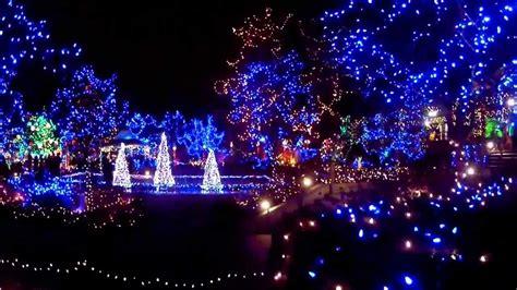 vandusen botanical garden presents festival of lights 2013