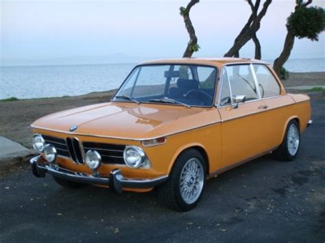 Wheels Bmw 2002 Orange New Models Factory Sealed 2012 21 247 nicest automatic solid 1969 bmw 2002 bring a trailer