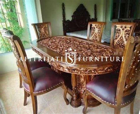 Meja Jepara meja makan gendong kursi salina jepara safitri jati furniture