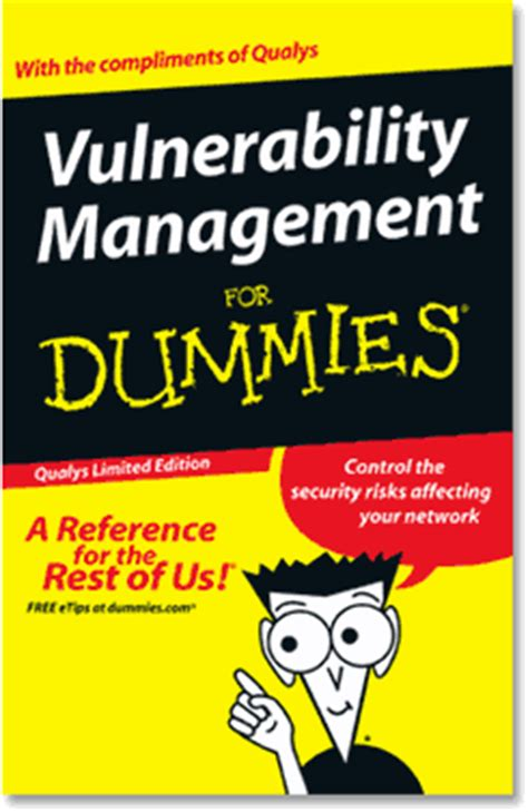 vulnerability management for dummies free computer