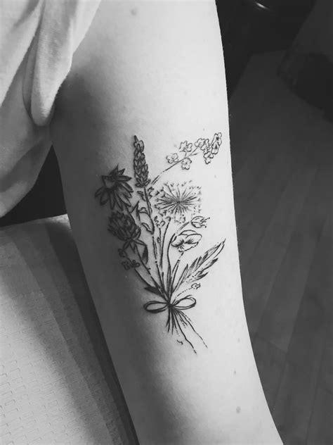 minimalist tattoo artist texas black and white wildflower tattoo www pixshark com