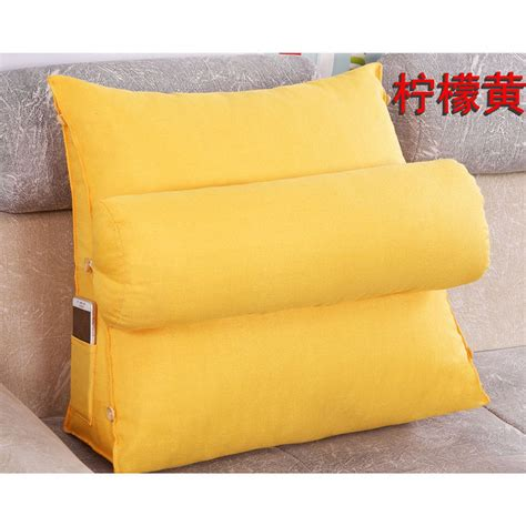 Sofa Bed Cushion Adjustable Sofa Bed Chair Rest Neck Support Back Wedge Cushion Fip Pillow Op