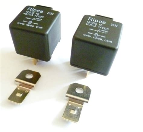 Car Relay Types by Pack Of Two 5 Pin Automotive Type 12volt 30 Relays