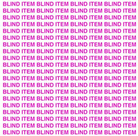 Blind Item by Blind Item Which High Fashion Model Has A Baby