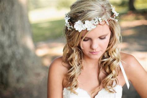 hair with fullness at crown wedding headband bridal flower hair wedding accessories
