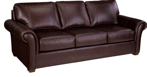 Leathercraft Sofa by Leather Craft Stationary Sofa Bothwell Furniture