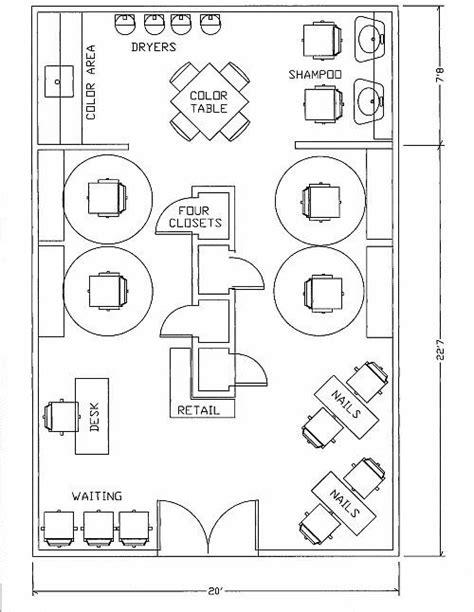 small beauty salon floor plans salon ideas on pinterest design layouts beauty salons