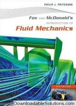 Solution Manual For Fox And Mcdonald S Introduction To