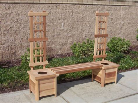 bench with trellis pin by belen macias on gardening pinterest