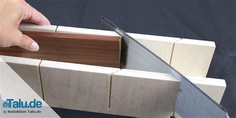 45 Grad Winkel Auf Gehrung by Sockelleisten Auf Gehrung S 228 In 3 Schritten