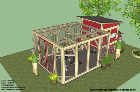 chicken coop plans construction chicken coop design