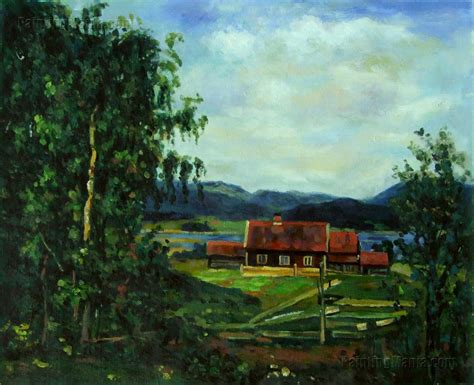 Landscape Oslo Landscape Maridalen By Oslo Edvard Munch Paintings