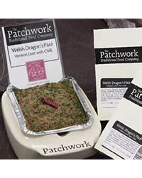 Patchwork Pates - patchwork whole pate dragons 455g green fields