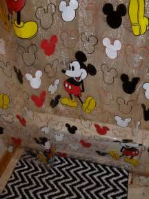 mickey mouse shower curtain 17 best images about everything mickey mouse on pinterest