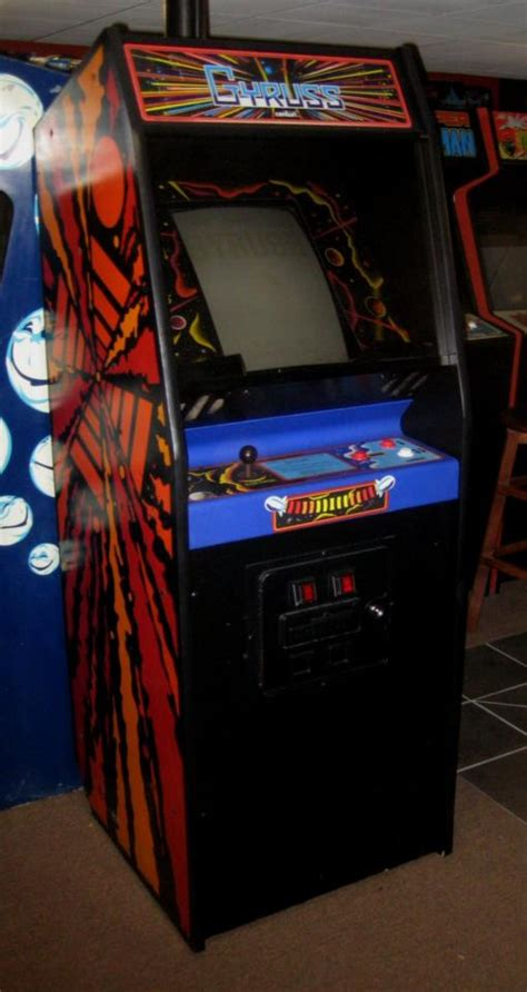 centuri gyruss dedicated arcade original cabinet and