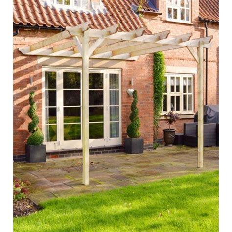 outdoor lean to pergola 3m x 3m