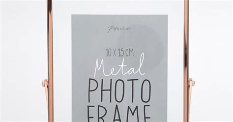 Paperchase Copper Photo Frame 4x6 image 1 of paperchase copper photo frame 4x6 stuff