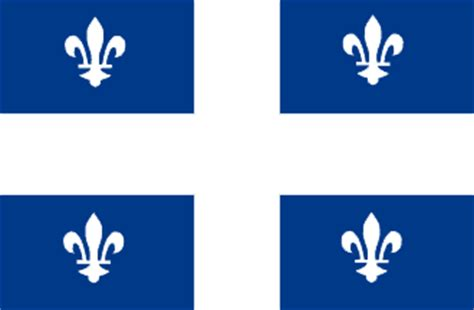 quebec flag and description