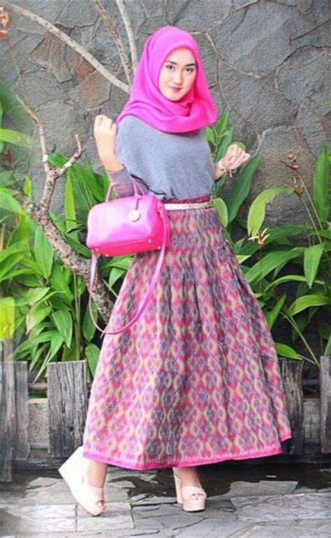 Baju Muslim Lebaran Dian Pelangi Pesona Batik Nusantara Yang Indah Dan Menawan Untuk