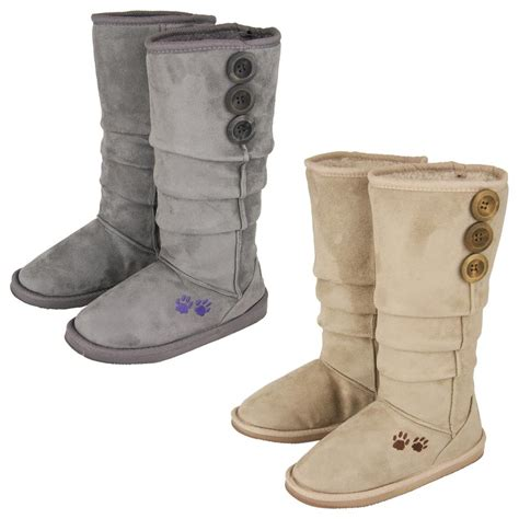 purple paw slouch boots the animal rescue site