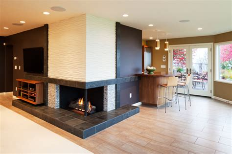portland seattle home remodeling fireplace ideas for