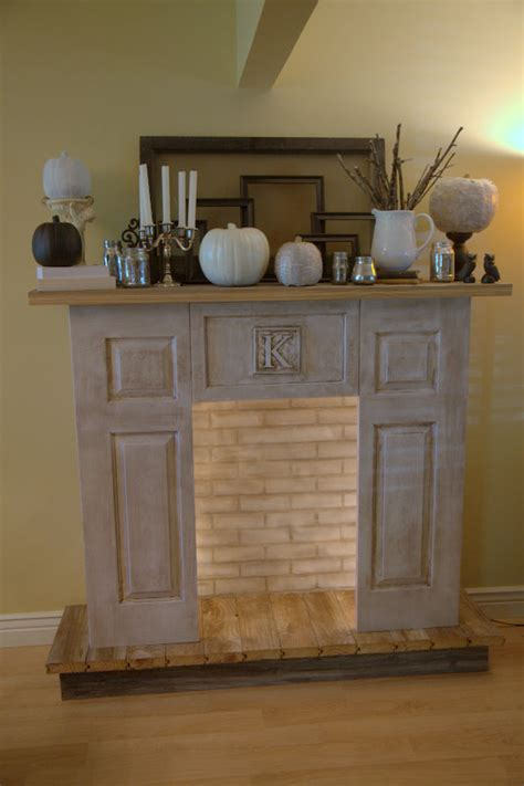 diy faux fireplace ideas wood plant guide to get electric fireplace mantel diy