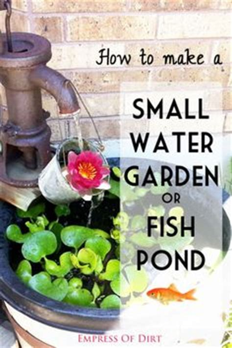 1000 ideas about small water gardens on water