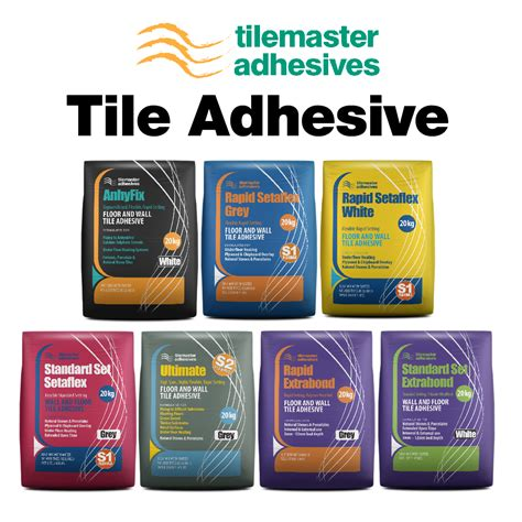 Tile Adhesive Tilemaster Tile Adhesive Preparation Products
