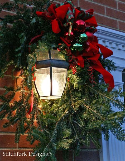 outdoor light decorations 7 best images about garage door decor on arrangements