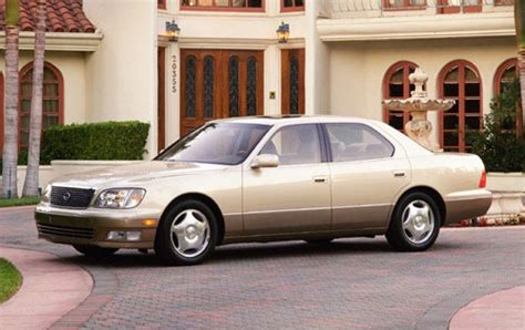 lexus models 2000 used 2000 lexus ls 400 sedan pricing features edmunds