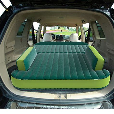 bed for car smartspeed 174 suv car air bed for travel car back seat air
