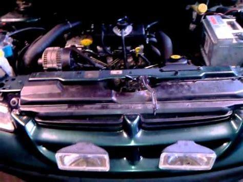 crysler voyager 2.5 td engine start after repair youtube
