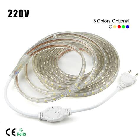 Murah Led Smd5050 Rgb Outdoor Waterproof 1m 10m waterproof smd 5050 led 220v 230v 60leds m rope light ebay