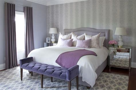 purple and gray bedroom ideas transitional bedroom