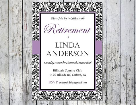 retirement card template free printable retirement invitations theruntime