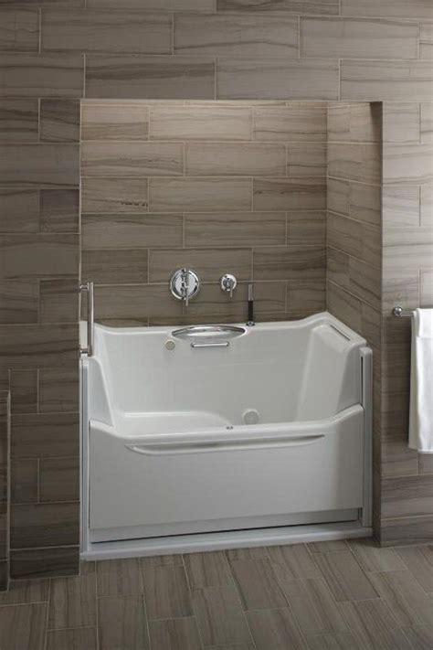 bathtub replacement options kholer 60 quot rising wall soaking bath tub a stylish