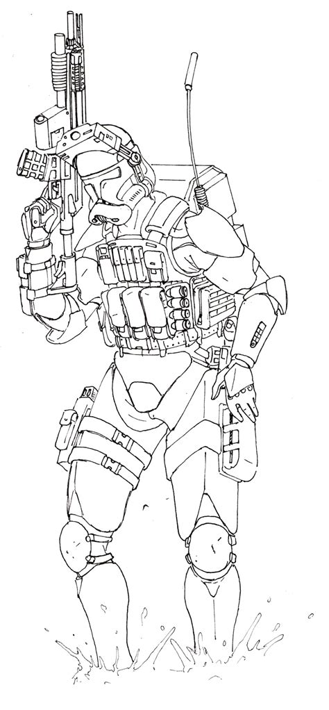 m phase 2 clone trooper coloring pages coloring pages