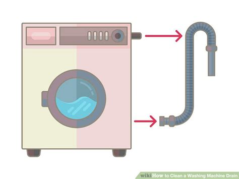 washing machine drain how to clean a washing machine drain 9 steps with pictures