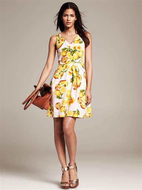 Dres Emon splurge vs lemon print dresses what s haute
