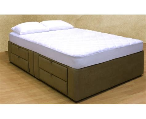 Box Bed Frame With Drawers by 8 Drawer Platform Bed Storage Mattress Box
