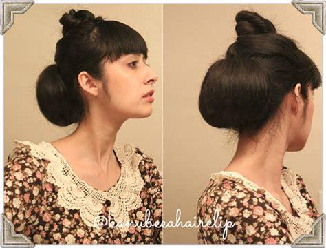tutorial membuat sanggul modern dari rambut sendiri tutorial membuat sanggul cantik retro rambut sendiri 2014