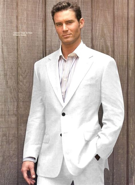 how to wear a white suit for your wedding brides all white men s suit if someone wanted to get this for me