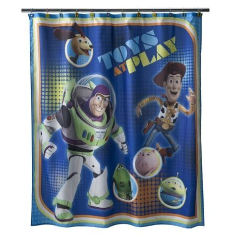 toy story shower curtain disney toy story sunnyside shower curtain 72x72 quot