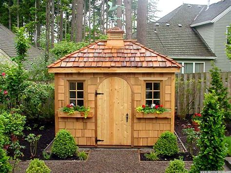 Garden Sheds by Fancy Garden Sheds Construct Your Personal Shed With