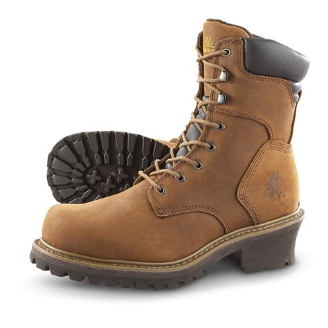 s 8 quot chippewa 174 steel toe electrical hazard iq work