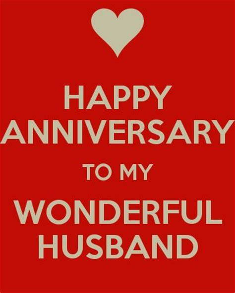 HAPPY ANNIVERSARY TO MY WONDERFUL HUSBAND   KEEP CALM AND