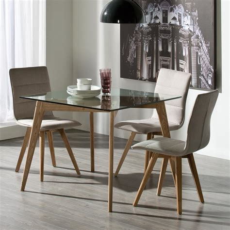 contemporary glass dining table glass dining tables and chairs modern furniture dining