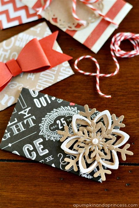 diy christmas gift card envelopes a pumpkin and a princess - Diy Christmas Gift Cards